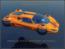 Supercar Concept39 Flight Mode by Scifiwarships