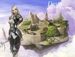 Rappelz Wall: Deva, Female by AlfaChaos