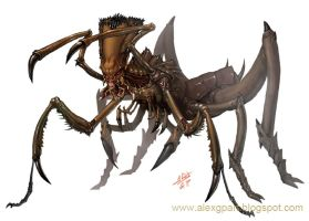 Insect-like creature by Toramarusama