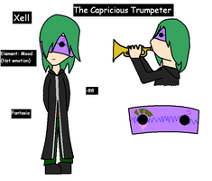 The Capricious Trumpeter by animalla