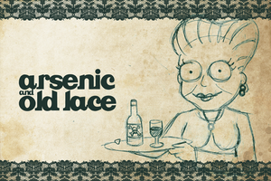 Arsenic and Old Lace Postcard by lil-naruto