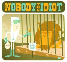 Art Trade: Nobody the Idiot by Montygog