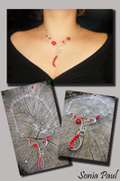 Rowanberry necklace by AyA-Mrau