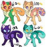 *Lowered Prices* Cat Adopts by L0ST-Mutt