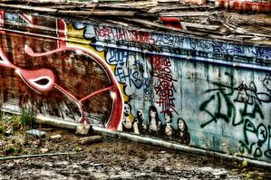 grafity pool by jjeanique