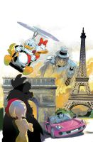 Donald Duck and Friends 355 by lazesummerstone