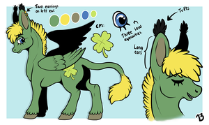 Pony!Berneri - reference sheet by MyLittleBerneri