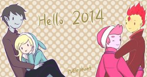 Hello 2014 by PvElephant