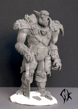 Grimloc Orc Sculp V2 by GhostofK