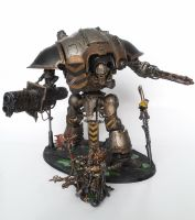Iron Warriors Knight Titan by Noveros