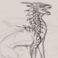 III. 4th June- Ice Lord WIP by Raven-Panther