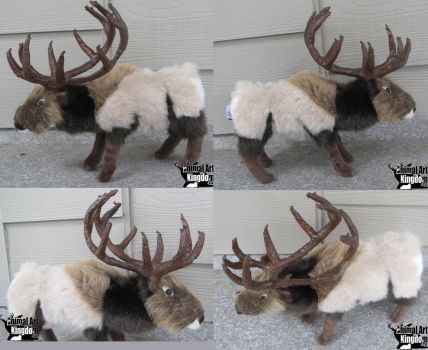 10in Elk Deer Plush by AnimalArtKingdom