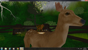 Riding deers by PintoFire