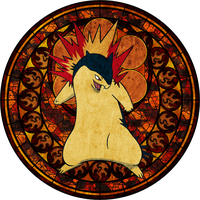 Dive Into the Heart - Typhlosion by Narkh