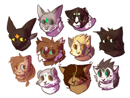 [TGB]: Some LT cats by Mackoolzie