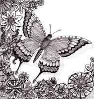 Flutter By Butterfly 25Aug12 by Artwyrd