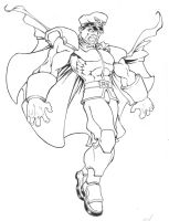 M. Bison by seraphimon83