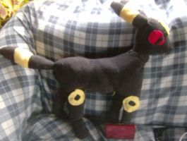 *FOR SALE* Large Handmde pokemon umbreon plush by Rubykickz