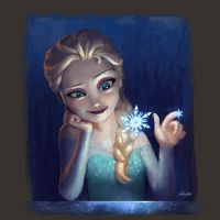 Elsa - Frozen by yoshiyaki