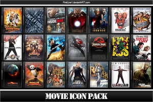 Movie Icon Pack 7 by FirstLine1