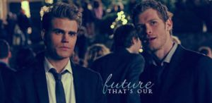 Stefan Salvatore and Klaus Signature by McOlussska