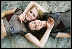 Sisters at Curl Curl 5 by wildplaces