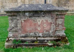 Lichen Encrusted Sarcophagus 2 by fuguestock
