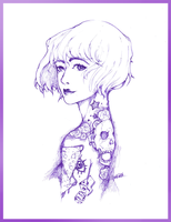 Purlple INK$ by Prismotic