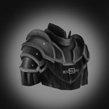 Leather armor study by BeexD