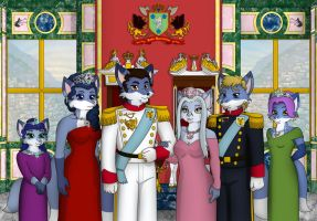 Poster: royal family by elleboe