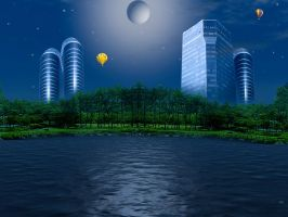 Buildings by chamirra