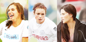 USWNT Football Portraits by magicalzebra