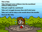 Don't be like Toby by Alenonimo