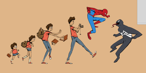 Spiderman T by EatMyBrush