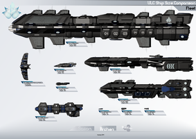 ULC Fleet Size Comparison by Calates