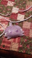 Espurr Necklace by MaiShark