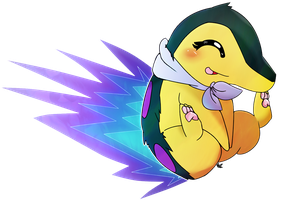 Luna, the calm cyndaquil [REQUESTED] by Kspmill