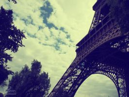 Eiffel Tower I. by Clergna
