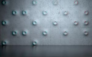 Weird Wall 3-D conversion by MVRamsey