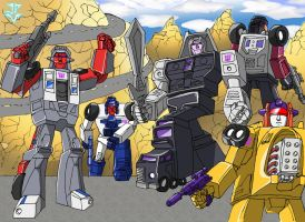 Transformers - Stunticons by JP-V
