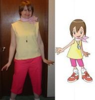 Digimon - Kari Cosplay by kisses-from-an-angel