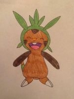 Chespin by PolarBearLivii