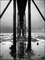 under the pontoon by Tom-Ripley