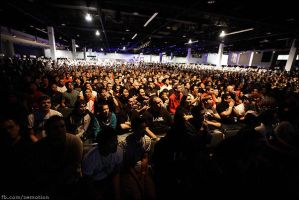 MLG Anaheim Crowd by zemotion
