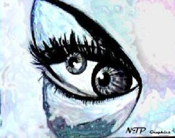the distant eye by Give1000Smiles