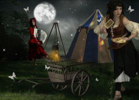 Gypsy Camp by Scarlettletters