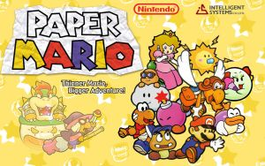 Mario's Paper-Thin Dilemma by I-2