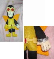 Henchman 69 Plush by DonutTyphoon