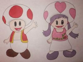 Toad drawings by chloesmith8