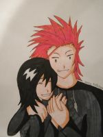 Axel X Xion by B10ndevamp